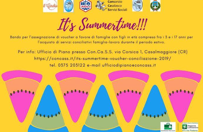 It's summertime – voucher conciliazione 2019